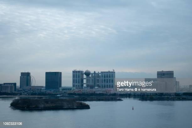 Tokyo Bay and Tokyo Odaiba in Japan