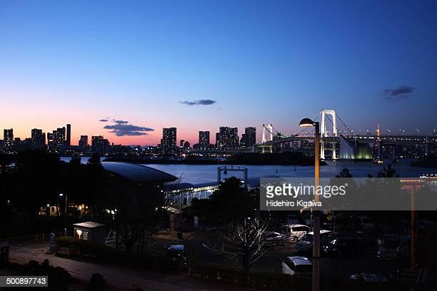 Tokyo Bay Area Twilight