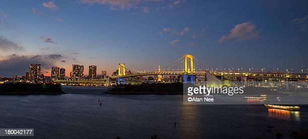 tokyo bay panorama - nee nee fotografías e imágenes de stock