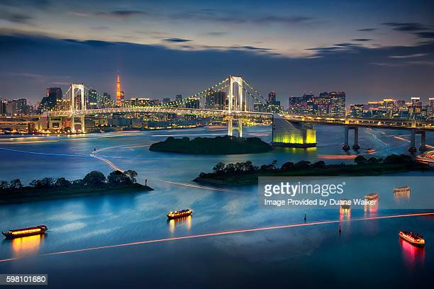 Tokyo Bay with Tokyo Tower