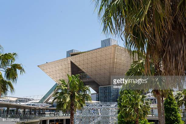 tokyo big sight, international exhibition centre - tokyo big sight stock photos and pictures