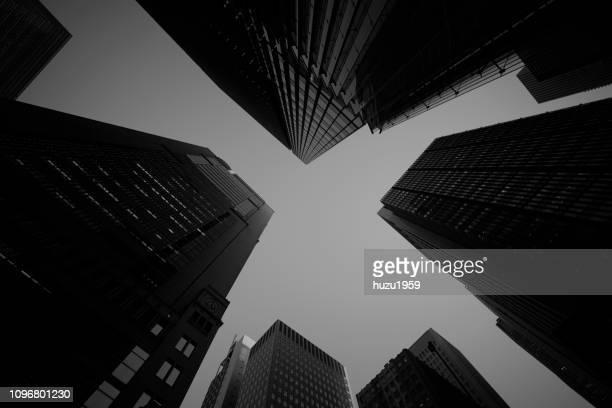 tokyo buildings at dusk - 不均衡 ストックフォトと画像