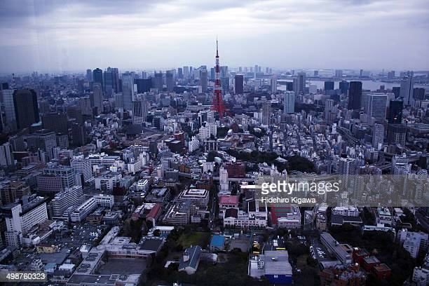 Tokyo city from air