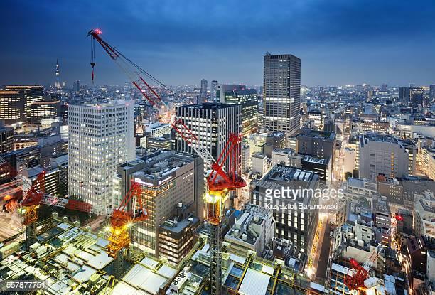 Tokyo City Glow