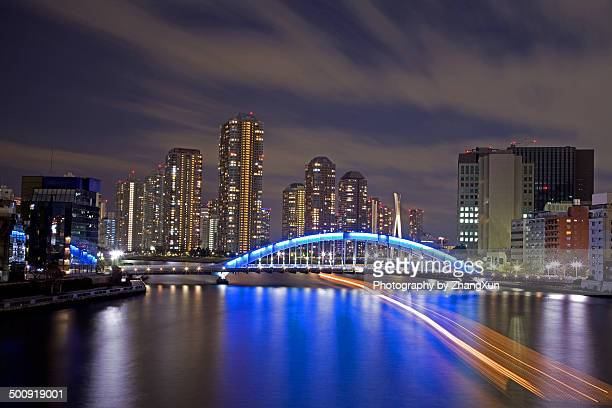 tokyo city - 永代橋 ストックフォトと画像