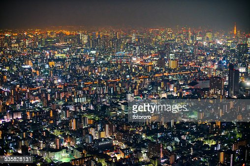 tokyo dark city skyline - photo #12