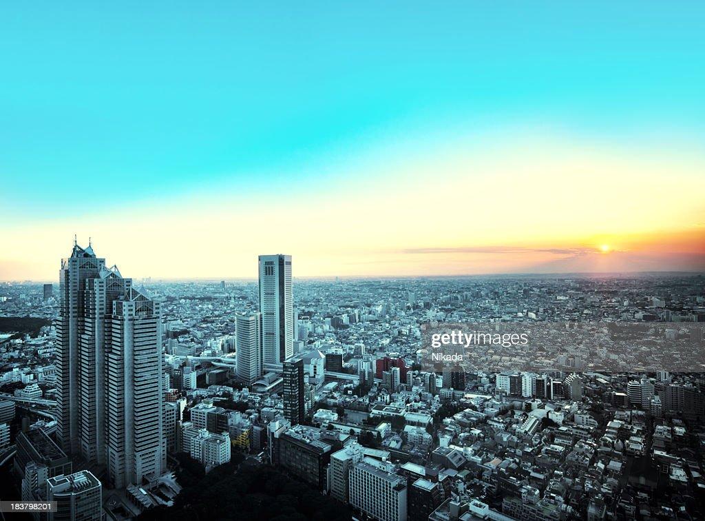 東京の街の眺め : ストックフォト