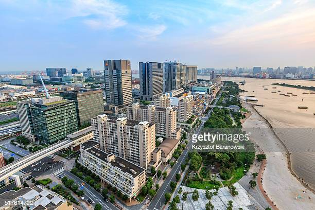 Tokyo Cityscape at Dusk