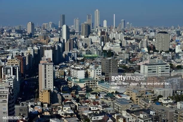 Tokyo Cityscape / Ikebukuro Area