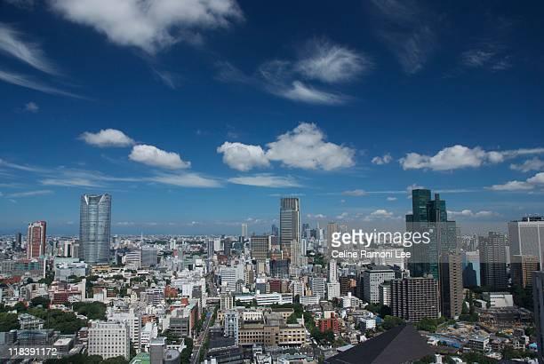 tokyo cityscape - day ストックフォトと画像