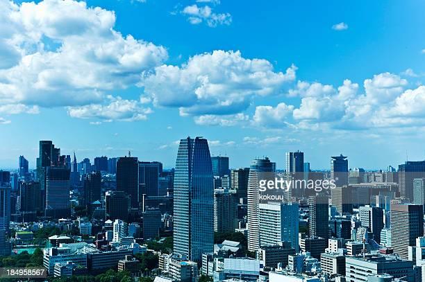東京の景観 - 昼間 ストックフォトと画像