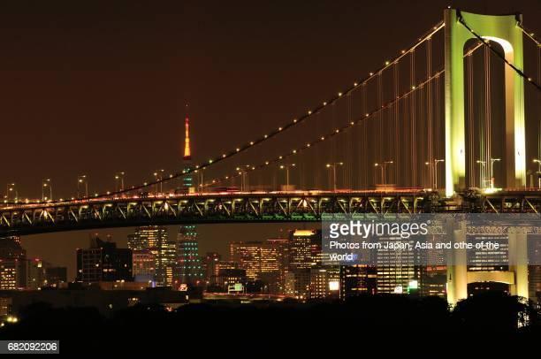 Tokyo Cityscape / Tokyo Rainbow Bridge