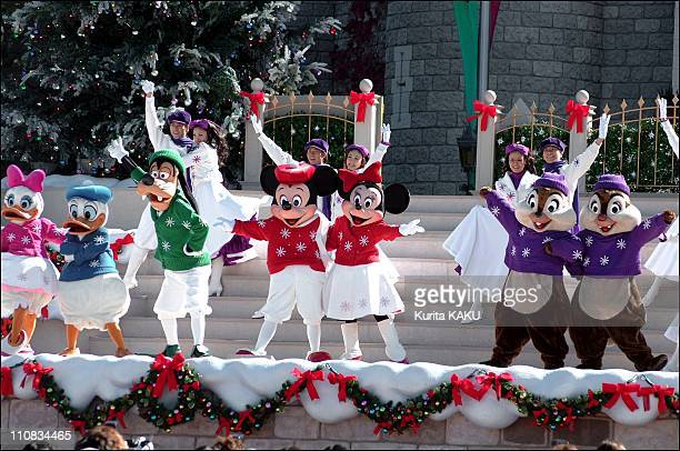 Tokyo Disneyland Park Will Ring In A Traditional And Romantic Yuletide With The 'Christmas Fantasy' Special Even In Tokyo Japan On November 04 2001...