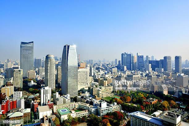 Tokyo Downtown cityscape