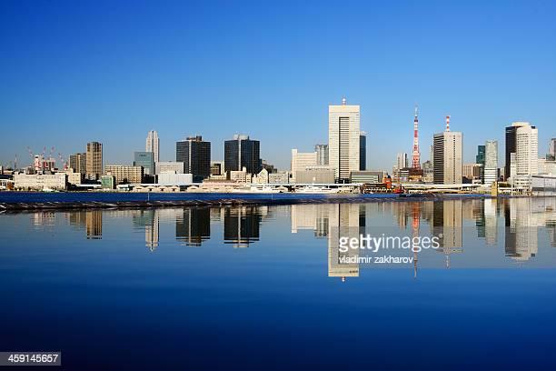 Tokyo Downtown skyline