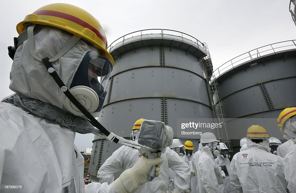 Tokyo Electric Power Co. Fukushima Dai-ichi Nuclear Power Plant Tour : News Photo