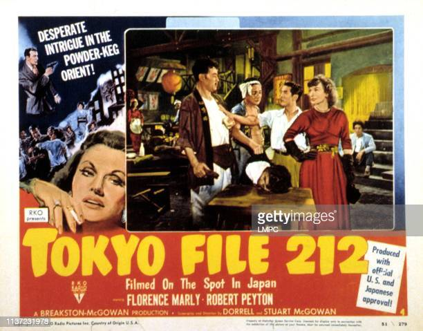 Tokyo File 212 lobbycard Florence Marly 1951