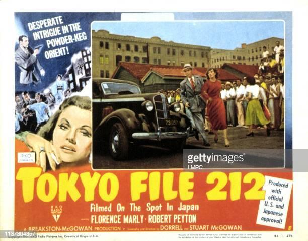Tokyo File 212 lobbycard Robert Peyton Florence Marly 1951