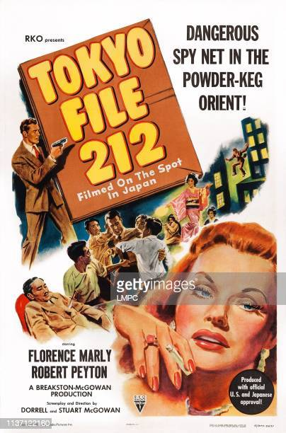 Tokyo File 212 poster US poster art Florence Marly 1951
