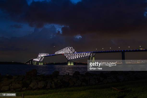 tokyo gate bridge - nee nee fotografías e imágenes de stock