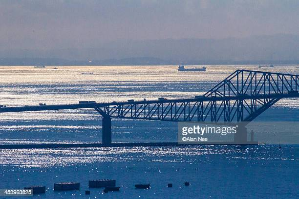 tokyo gate bridge - nee nee stock photos and pictures