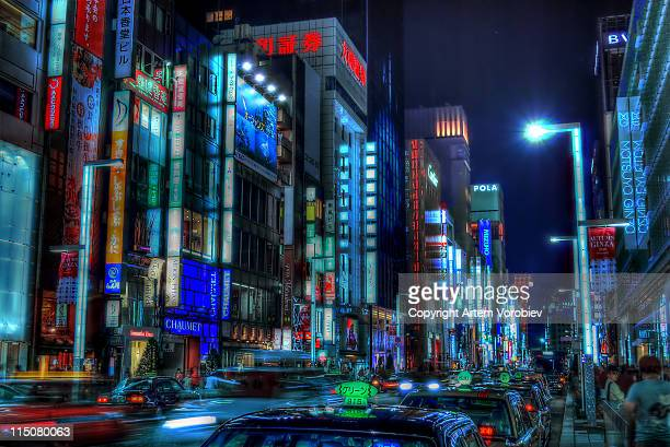 Tokyo, Ginza in HDR