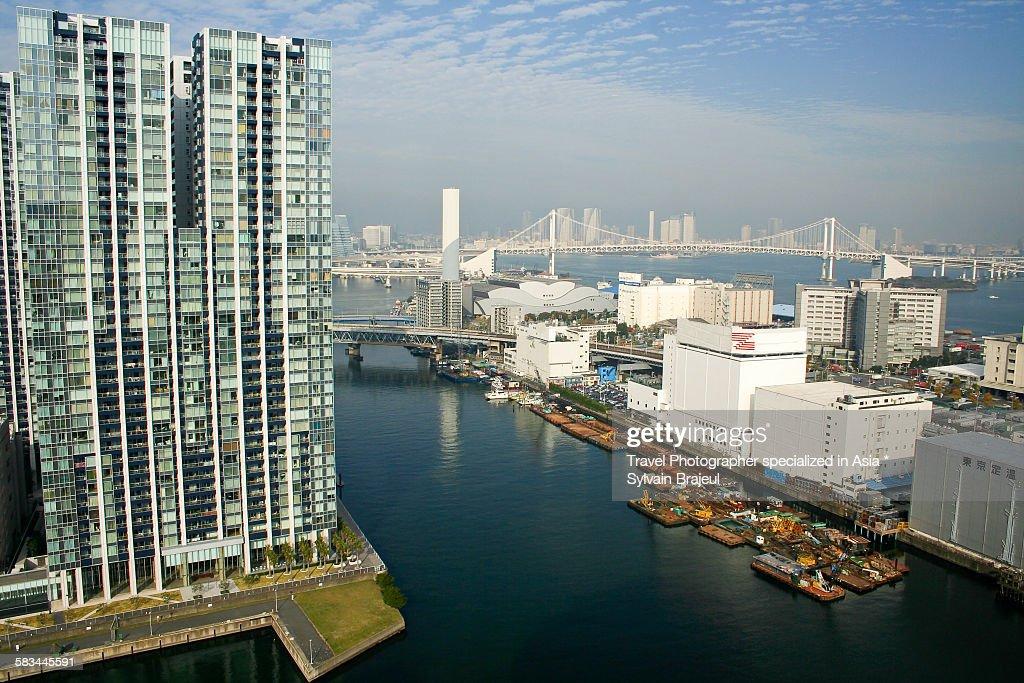 Tokyo harbour : Stock Photo