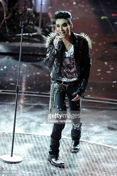 Tokyo Hotel attend the 60th Sanremo Song Festival at the Ariston Theatre On February 19 2010 in San Remo Italy
