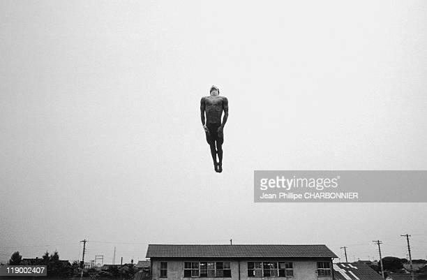 Tokyo Human Cannonball Yosuke Arimitsu Champion Diver Training For The PreOlympics