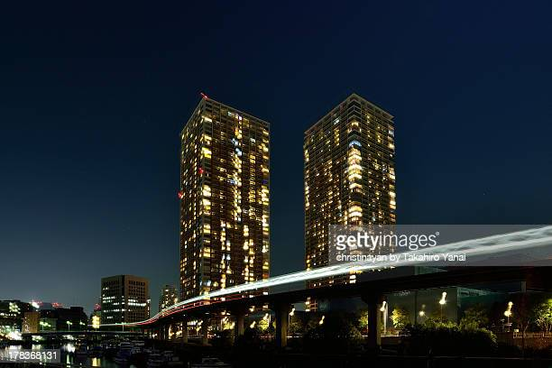 Tokyo in the midnight