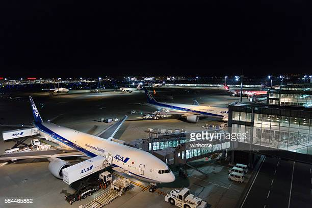 Tokyo International Airport in Japan