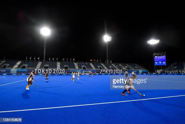 Tokyo , Japan - 24 July 2021; Sarah McAuley of Ireland during the Women's Pool A Group Stage match between Ireland and South Africa at the Oi Hockey...