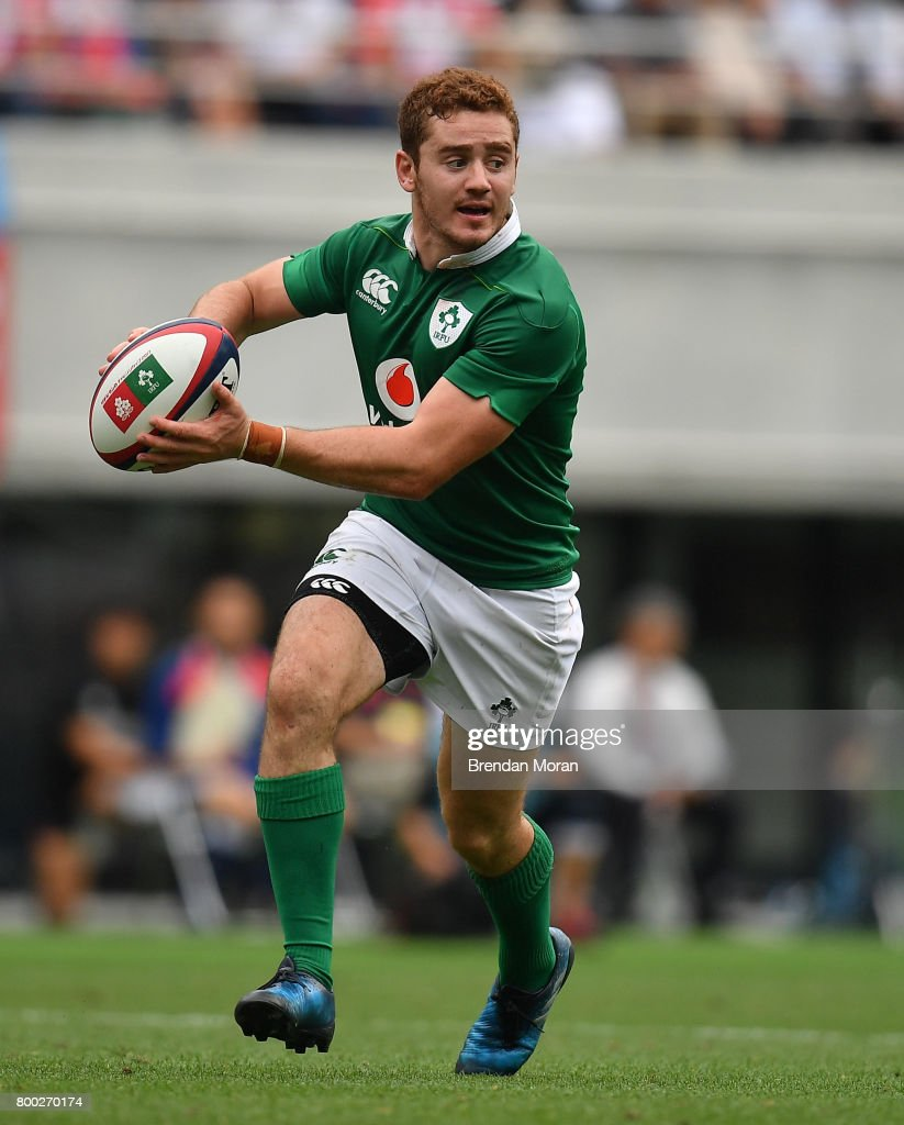 Tokyo , Japan - 24 June 2017; Paddy Jackson of Ireland during the international rugby match between Japan and Ireland in the Ajinomoto Stadium in Tokyo, Japan.