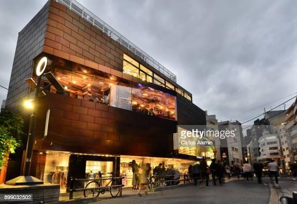 Tokyo - Japan - A commerce street in Shibuya