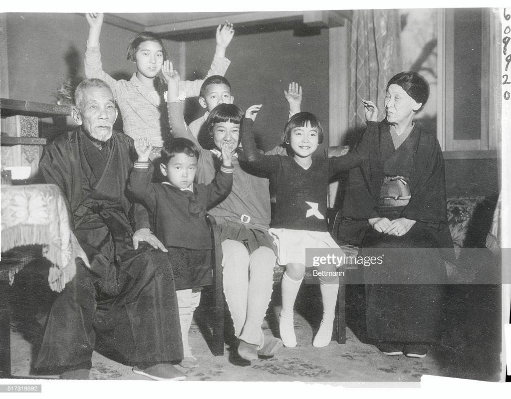 Premier Tsuyoshi Inukai and Family : ニュース写真