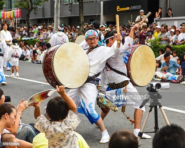 Koenji Awaodorri Japanese 'marching band'