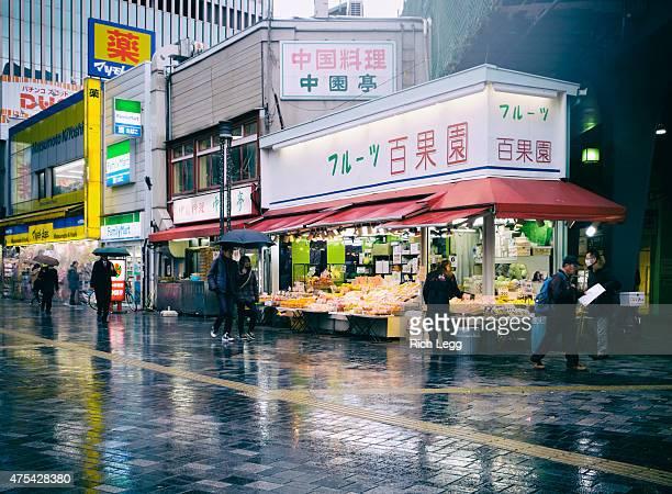 東京のフルーツスタンド