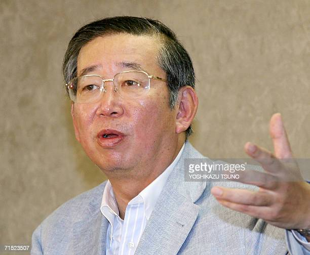 Japanese health welfare and labor minister Jiro Kawasaki announces the resumption of imports of US beef banned due to concerns over mad cow disease...