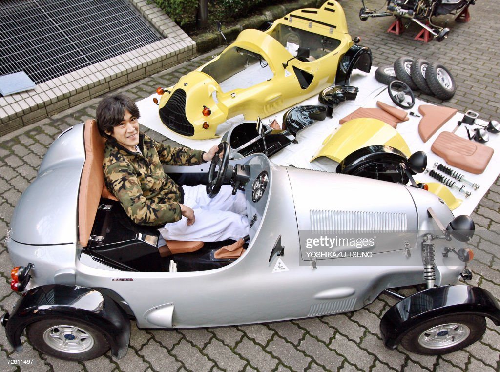 Japan S Automaker Mitsuoka Motor Unveils Pictures Getty Images
