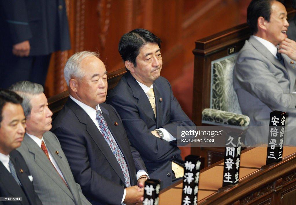 Japan's new Prime Minister Shinzo Abe (2 : News Photo