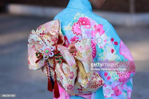 Tokyo, Japan, Kimono detail