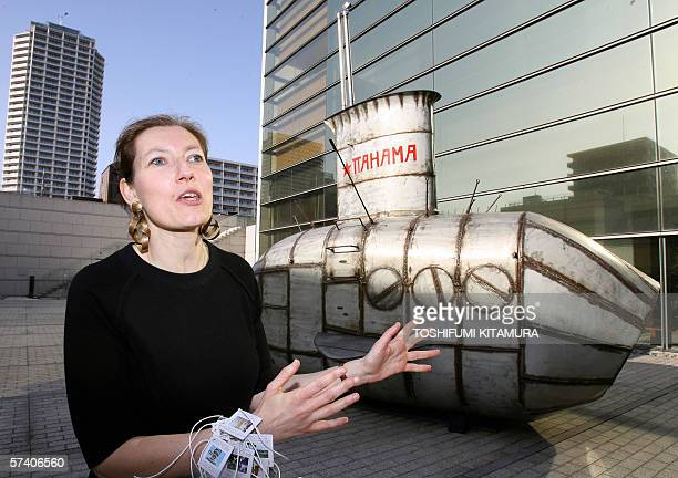 MORE ON IMAGE FORUM Heline Kelmachter Conservateur of the Foundation Cartier pour l'art contemporain explains about Belgian artist Panamarenko's...