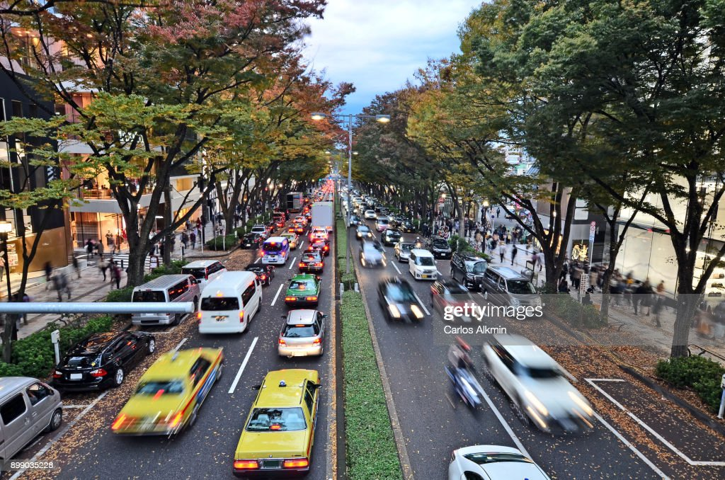 Tokyo - Japan - Omotesando street - atumn and sales : ストックフォト