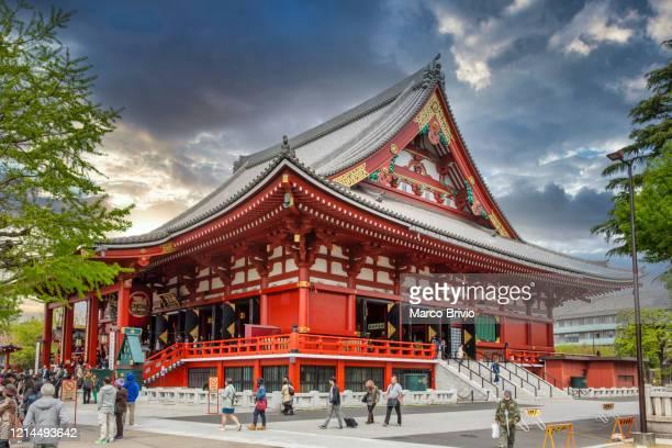 tokyo japan. senso ji kannon temple - marco brivio stock pictures, royalty-free photos & images