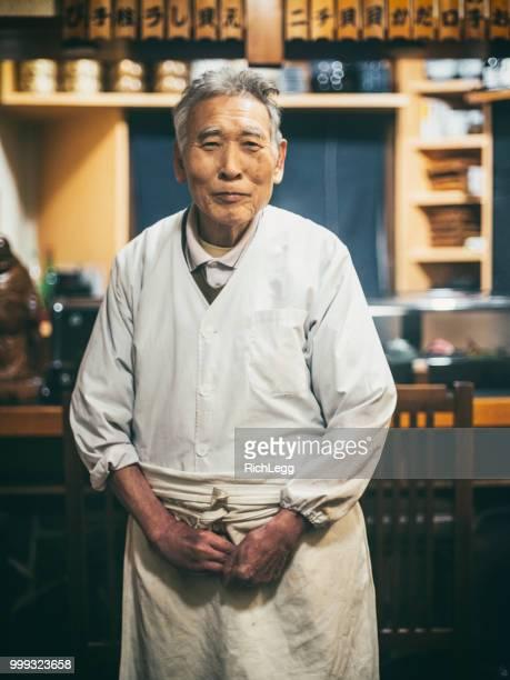 Tokyo Japan Sushi Shop Owner