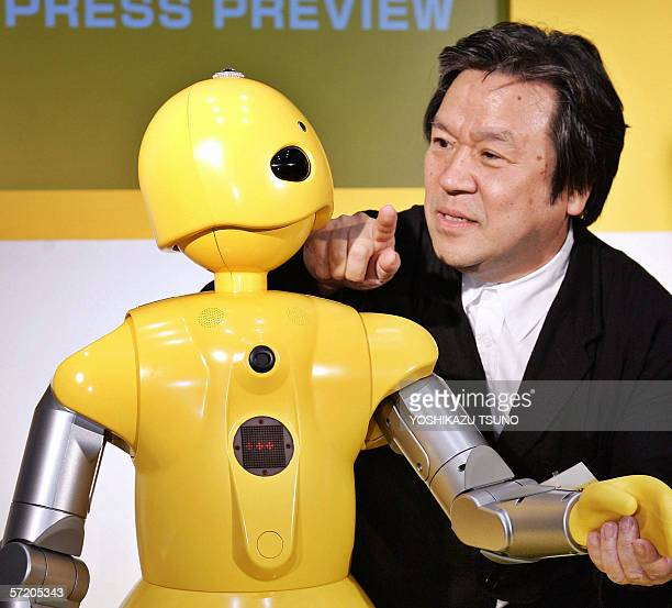 WITH STORY 'AFPLIFESTYLEJAPANECONOMYFASHIONPEOPLE' This 15 September 2005 file picture shows Japan's famous industrial designer Toshiyuki Kita...