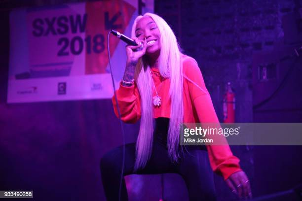 Tokyo Jetz performs onstage at Beer n Tacos during SXSW at Mowhawk on March 17 2018 in Austin Texas