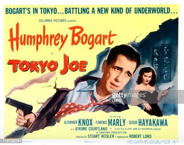 Tokyo Joe poster Humphrey Bogart Florence Marly 1949