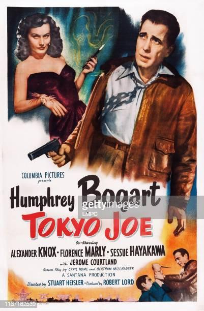 Tokyo Joe poster US poster art from left Florence Marly Humphrey Bogart 1949