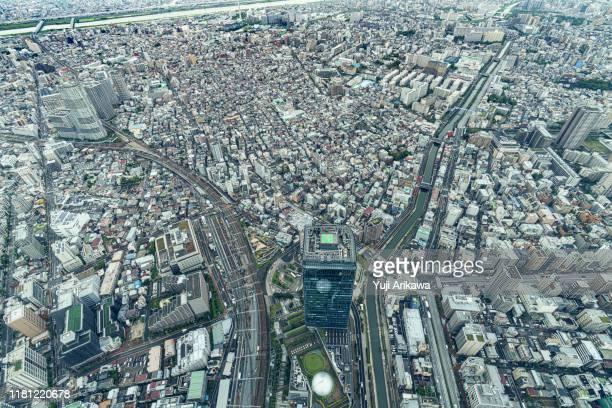 tokyo landscape - 見渡す ストックフォトと画像